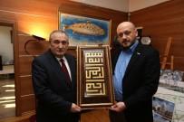 MÜSİAD Yönetimi Başkan Yılmaz'ı Ziyaret Etti