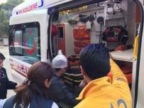 UĞUR MUMCU - Nazilli'de Cam Şişeli Kavga Açıklaması 1 Yaralı
