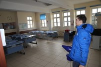 GRİP - Okul Ve Camilerde Dezenfeksiyon Çalışması Yapıldı