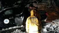 Rize'de Kardan Dolayı Mahsur Kalan Hasta Kurtarıldı