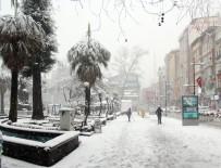 RİZE BELEDİYESİ - Rize'de Yoğun Kar 346 Köy Yolunu Ulaşıma Kapattı