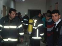 Tokat Devlet Hastanesinde Korkutan Yangın