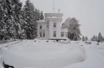 AYASOFYA - Trabzon'da Kar Hayatı Olumsuz Etkiliyor