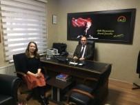 NECMİ ÇELİK - Uzunsoy, Tarım Müdürlüğü'nü Ziyaret Etti