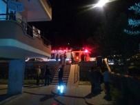 İTFAİYE ERİ - Alanya'da Korkutan Ev Yangını