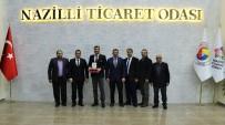 TÜRKIYE EKONOMI POLITIKALARı ARAŞTıRMA VAKFı - Atçalı Firma İlk 100'E Girdi, Nazilli Ticaret Odası Plaket Verdi