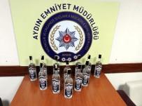 VOTKA - Aydın'da 1.488 Şişe Kaçak İçki Ele Geçirildi