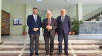 BEKIR ALTAN - Başkan Altan'dan Karayolları Ve DSİ Bölge Müdürlerine Ziyaret