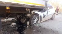 Bolu'da Trafik Kazası; 1 Ölü