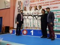 KAĞıTSPOR - Büyükşehir'li Judocular'dan 8 Türkiye Derecesi