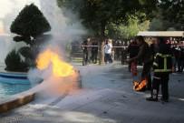 YANGIN TÜPÜ - Büyükşehirde Yangın Tatbikatı