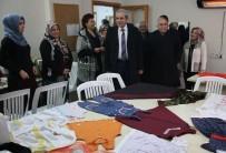İSMAIL GÜNEŞ - Demirkol, Kadın Destek Merkezini Ziyaret Etti