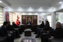 Emekli Vali Güney'den Başkan Tutal'a Ziyaret