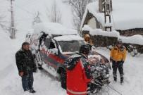 Kar Ambulansları Hayat Kurtarıyor