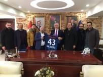 RAMAZAN YıLDıRıM - Kütahyaspor Yönetimi, Vali Ve Belediye Başkanı'nı Ziyaret Etti