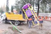 TAHTEREVALLI - Manavgatlı Çocuklara Oyun Parkı Sürprizi