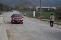 Milas'ta Bozulan Yolla Tepki Topluyor