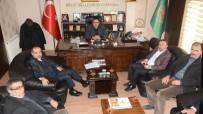 CENGIZ AYDOĞDU - Milletvekili Aydoğdu Ve Başkan Karatay'dan Ziraat Odasına Ziyaret