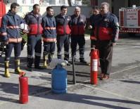 SÖNDÜRME TÜPÜ - Namlı Açıklaması 'Binaların Her Katında Yangın Söndürme Tüpü Bulundurulmalı'