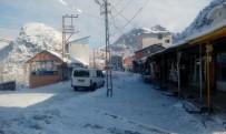 SOĞUK HAVA DALGASI - Sınırda Kar Yağışı