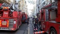 İSTİKLAL CADDESİ - Taksim'de Yangın Paniği