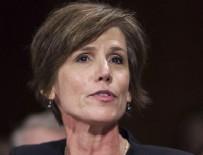 ABD BAŞKANI - Trump, Adalet Bakanı Vekili Yates'i görevden aldı