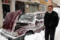 SOĞUK HAVA DALGASI - Türkiye'yi Gezdi, Samsun'da Mahsur Kaldı
