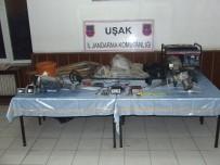 ULUPıNAR - Uşak Jandarması Define Avcılarının Peşini Bırakmıyor
