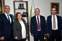 FEN EDEBİYAT FAKÜLTESİ - ADÜ'den Başkan Kale'ye Ziyaret