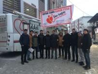 Ağrı'da 'Vatan Sana Kanım Feda'  Kampanyası