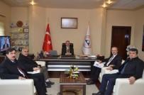 MUHAMMET GÜVEN - Başkan Gülcüoğlu'ndan Rektör Güven'e Ziyaret
