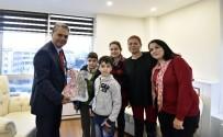 EĞITIM İŞ - Başkan Uysal'a Trafik Parkı Teşekkürü