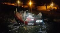EHLİYETSİZ SÜRÜCÜ - Ehliyetsiz Sürücüsünün Kullandığı Otomobil Takla Attı Açıklaması 7 Yaralı