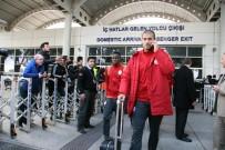 FLORYA - Galatasaray Kamp İçin Antalya'ya Geldi