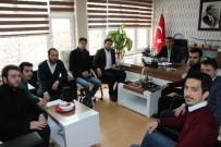 HÜSEYIN AKSOY - Genç Ortam Derneği'nden Gençlik Hizmetleri Ve Spor İl Müdürü Aksoy'a Ziyaret