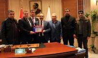HIZMET İŞ SENDIKASı - HAK-İŞ Gaziantep İl Başkanı Mehmet Geçer'den Rektör Prof. Dr. Gür'e Ziyaret