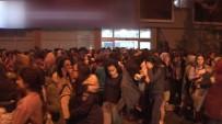 YURT YANGINI - İstanbul'da kız öğrenci yurdunda yangın