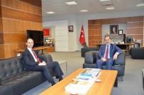 SıDKı ZEHIN - Marmaraereğlisi Kaymakamından NKÜ'ye Ziyaret