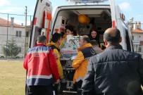 AMBULANS HELİKOPTER - Prematüre Bebek İzmir'e Sevk Edildi