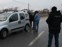 Sınır bölgesinde polisler tetikte
