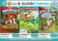 BREMEN MıZıKACıLARı - Süleymanpaşa Belediyesi Çocuk Kulübü Üyelerine Özel Çocuk Oyunları Devam Ediyor