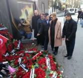 BASıN KONSEYI - Türkiye Basın Konseyi Yüksek Kurulu Ortaköy'de Hayatını Kaybedenleri Andı