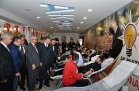 ADANA İL BAŞKANLIĞI - AK Parti'den Kan Bağışı Kampanyası