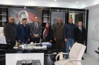 MEDINE - AK Parti İlçe Teşkilatından Kaymakam Özcan'a Ziyaret