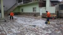 GÖKHAN KARAÇOBAN - Alaşehir Belediyesi'nden Buzlanma Çalışması