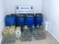 KAÇAK İÇKİ - Amasya'da Kaçak İçki İmalathanesine Operasyon