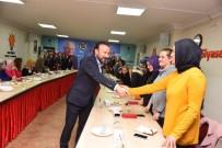 NEVZAT DOĞAN - Başkan Doğan, AK Parti Kadın Kolları Başkanı Yılmaz Ve Yönetimini Ziyaret Etti