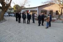 Başkan Şirin'den Çıkrıkçı Düğün Salonu'nda İnceleme