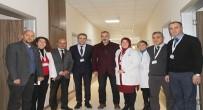 İSMAIL YıLDıRıM - Başkanlardan Hastaneye Ziyaret