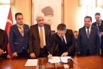 OSMAN GÜRÜN - Büyükşehir Ve GEKA Su Ürünlerinin Gelişim Projesi'ni İmzaladı